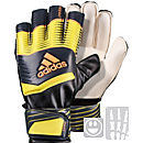 adidas Youth Predator Fingersave Goalkeeper Gloves - Yellow and Grey