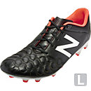 New Balance Visaro K-Lite FG Soccer Cleats - Black and White