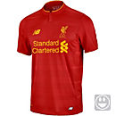 New Balance Liverpool Youth Home Jersey 2016-17