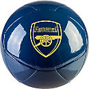 Puma Arsenal Cannon Soccer Ball - Navy