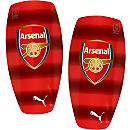 Puma Arsenal Stripe Shinguards - High Risk Red