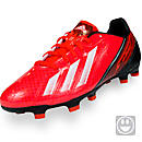 adidas Youth F10 TRX FG Soccer Cleats  Infrared with Black