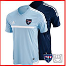 adidas Kids MLS 15 Match Jersey - Sporting Kaw Valley