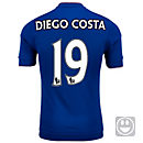 adidas Kids Diego Costa Chelsea Home Jersey 2015-16