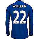 adidas Willian Chelsea L/S Home Jersey 2015-16