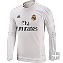 adidas Real Madrid L/S Home Jersey 2015-2016