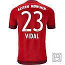 adidas Kids Arturo Vidal Bayern Munich Home Jersey 2015