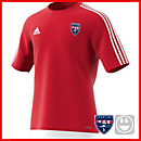 adidas Youth Estro 15 Jersey - Power Red - Sporting Kaw Valley - Girls Academy