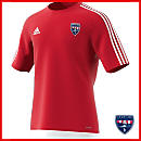 adidas Adult Estro 15 Jersey - Power Red - Sporting Kaw Valley - Girls Academy