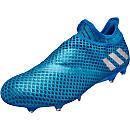 adidas Messi 16+ Pureagility FG - Shock Blue & Silver Metallic