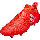 adidas X 16+ PureChaos FG Soccer Cleats - Solar Red & Silver Metallic
