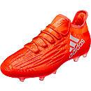 adidas X 16.2 FG - Solar Red & Silver Metallic
