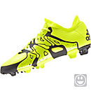 adidas Kids X 15.1 FG/AG Soccer Cleats - Yellow and Yellow