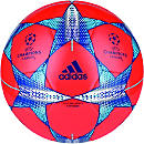 adidas Finale 15 Capitano Soccer Ball - Red and Orange