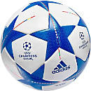 adidas Final 15 Top Training Soccer Ball - White and Cyan