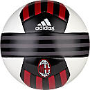 adidas AC Milan Soccer Ball - White & Victory Red