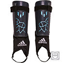 adidas Kids Messi 10 Shinguard - Night Grey & Matte Ice Metallic