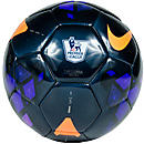 Nike Luma EPL Soccer Ball  Black with Purple and Total Orange
