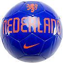 Nike Netherlands Supporter Soccer Ball  Blue with Orange
