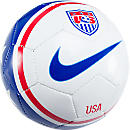 Nike USA Skills Ball  White with Blue