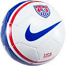Nike USA Skills Ball  White with Blue