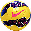 Nike Saber Hi-vis Soccer Ball - Yellow and Purple