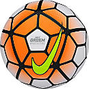 Nike Ordem 3 Match Soccer Ball - White and Orange
