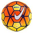 Nike Ordem Hi-vis EPL Match Ball - Yellow & Total Orange