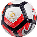 Nike Ordem 4 Ciento Match Ball - Copa America - White & Total Crimson