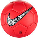 Nike Neymar Prestige Soccer Ball - Total Crimson & Black