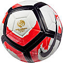 Nike Strike Soccer Ball - Copa America - White & Total Crimson