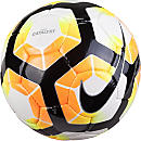 Nike Catalyst Match Soccer Ball - White & Bright Crimson