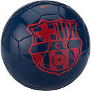 Nike Barcelona Supporters Soccer Ball - Midnight Navy