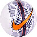 Nike Mercurial Veer Soccer Ball - White & Hyper Grape