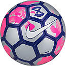 Nike SCCRX Duro Reflect Soccer Ball - Reflective Silver & Pink Blast