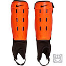 Nike Kids Charge Shin Guards - Total Orange & Black