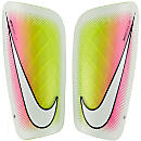 Nike Mercurial Lite Shinguards - White & Multicolor