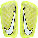 Nike Mercurial Flylite Shin Guards - Volt and White