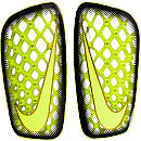 Nike Mercurial Flylite Shinguard - Clear and Volt