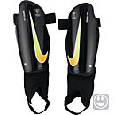 Nike Kids Charge Shin Guards - Black & Laser Orange
