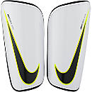 Nike Hard Shell Slip-in Shin Guards - White & Black