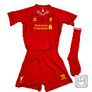 Warrior Lil Kids Liverpool Home Jersey 2013-2014