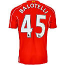 Warrior Balotelli Liverpool Home Jersey 2014-15