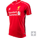 Warrior Liverpool Home Jersey 2014-2015