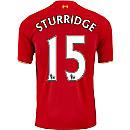 New Balance Daniel Sturridge Liverpool Home Jersey 2015
